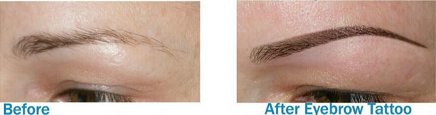 Eyebrow Tattoo Before And After: Cosmetic Tattoo Beginners Course