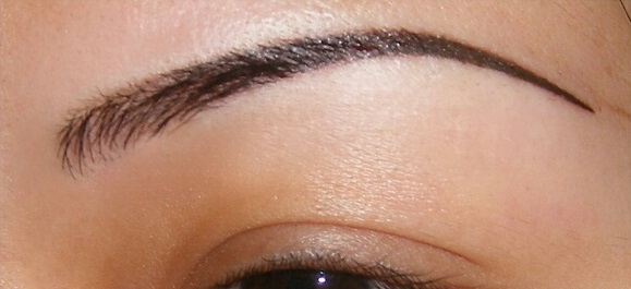 Permanent Eyebrow After